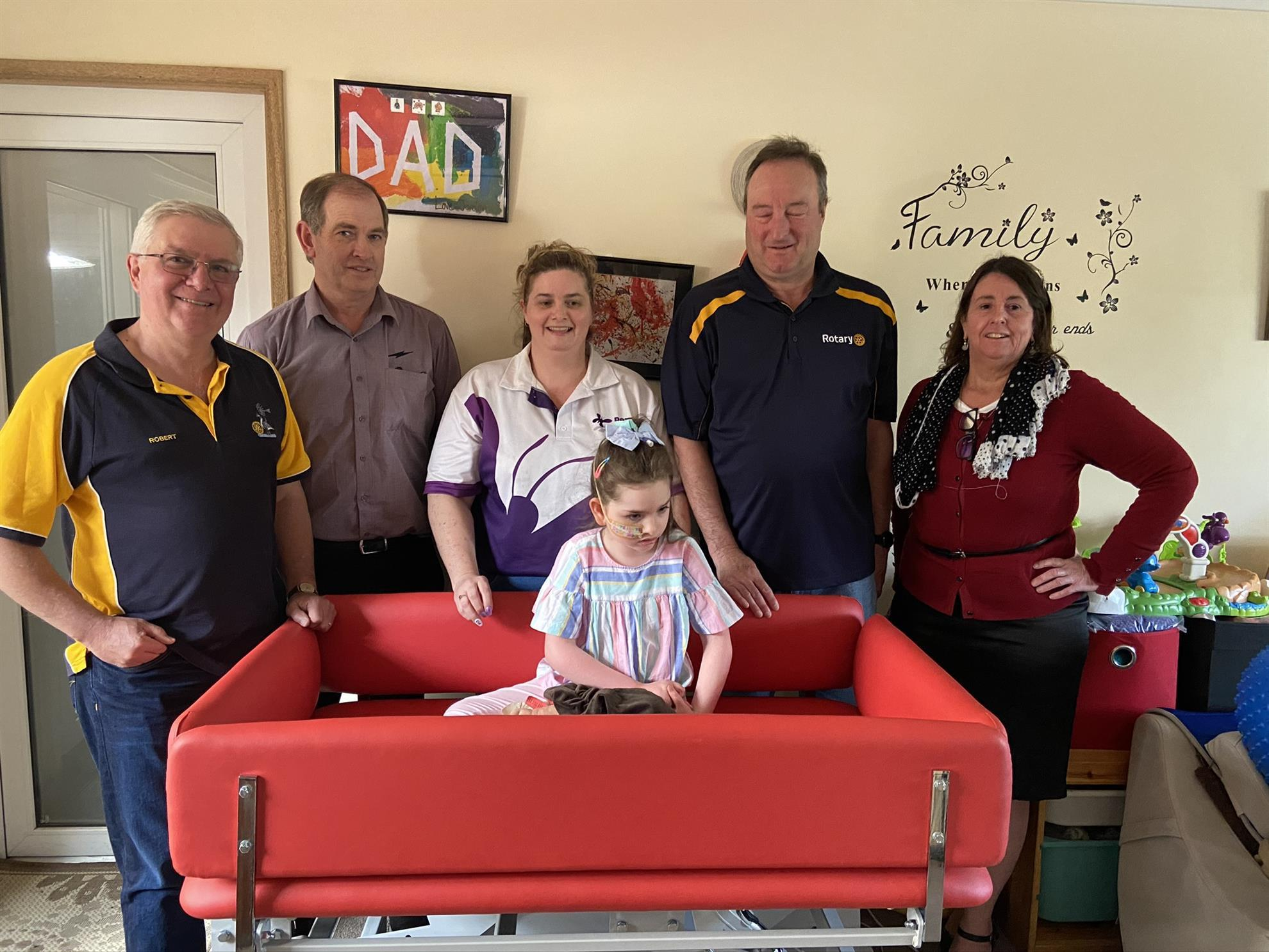 Assisting a local Jerrabomberra family