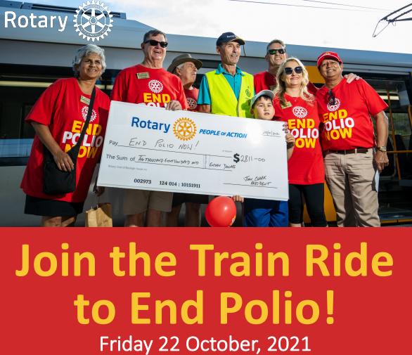 Polio Plus Train Ride