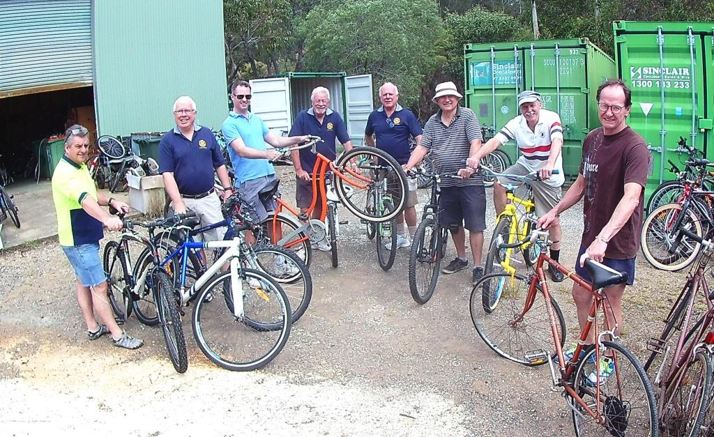 966303669 Last Saturday we had  Bike Prep  1   Good turnout on our first working bee  in preparation to the Big Bike Sale (note  now scheduled for 8th December  not 1st ...