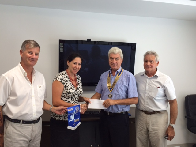 Grant Presentation - Rotary Club Malta to Sandra Schembri Wismayer