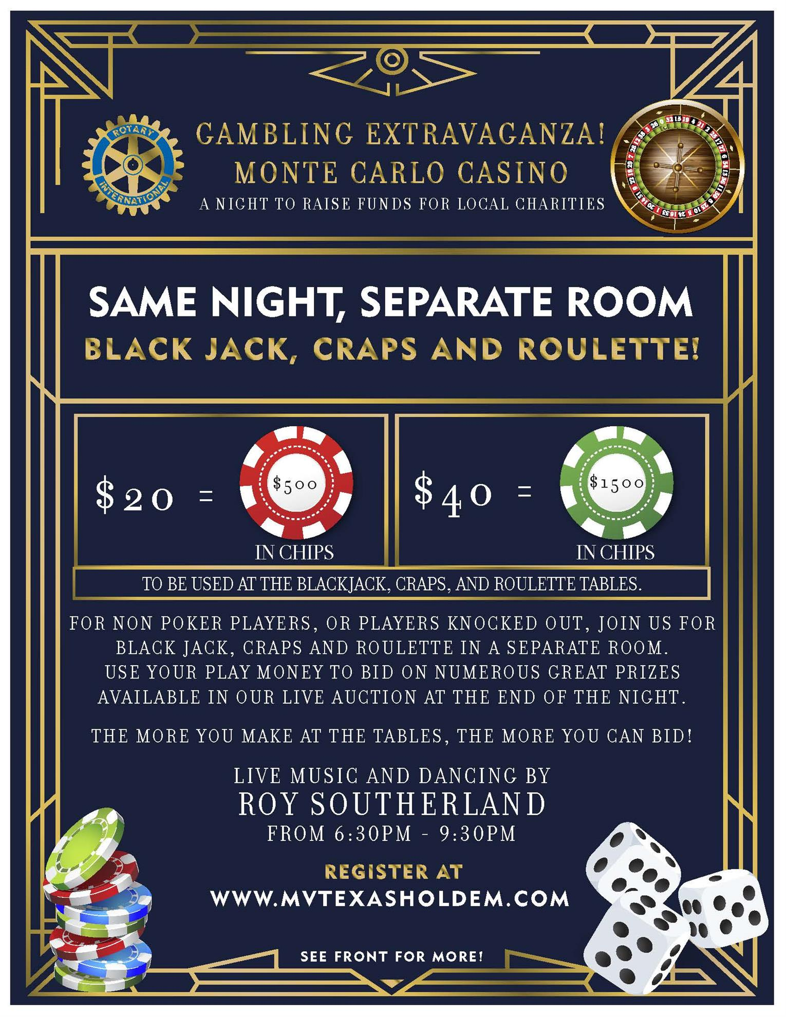Texas Hold 'Em Flyer Page 2