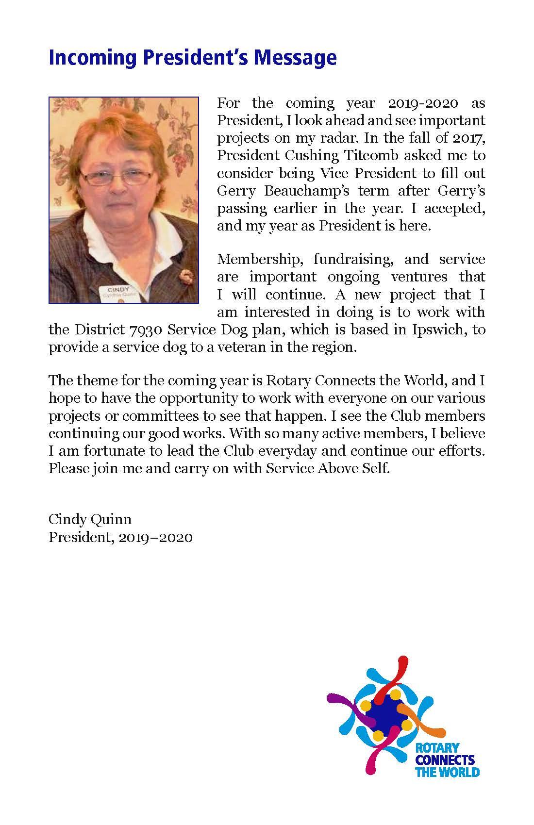 Stories   Rotary Club of Ipswich