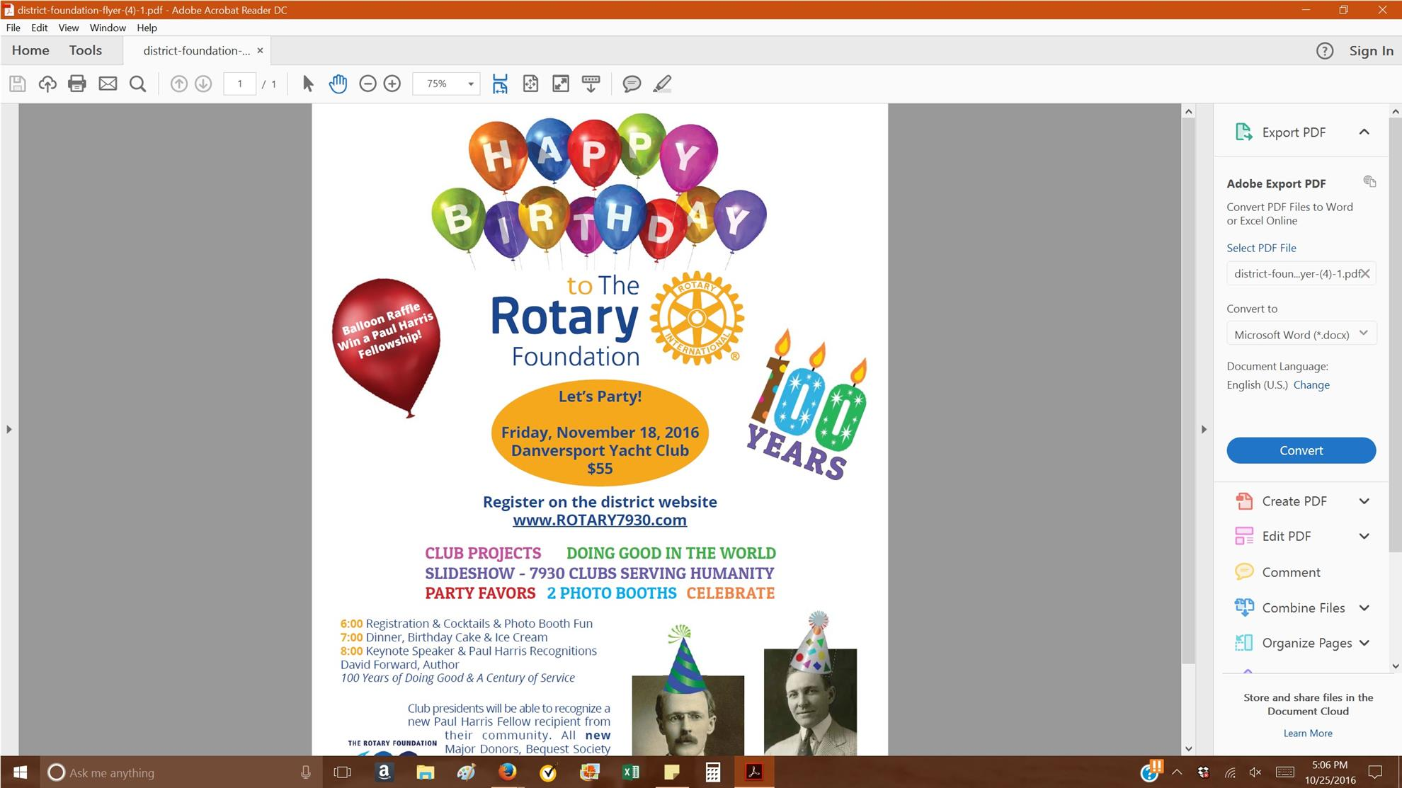 Home page rotary club of manchester essex for 100th window vinyl