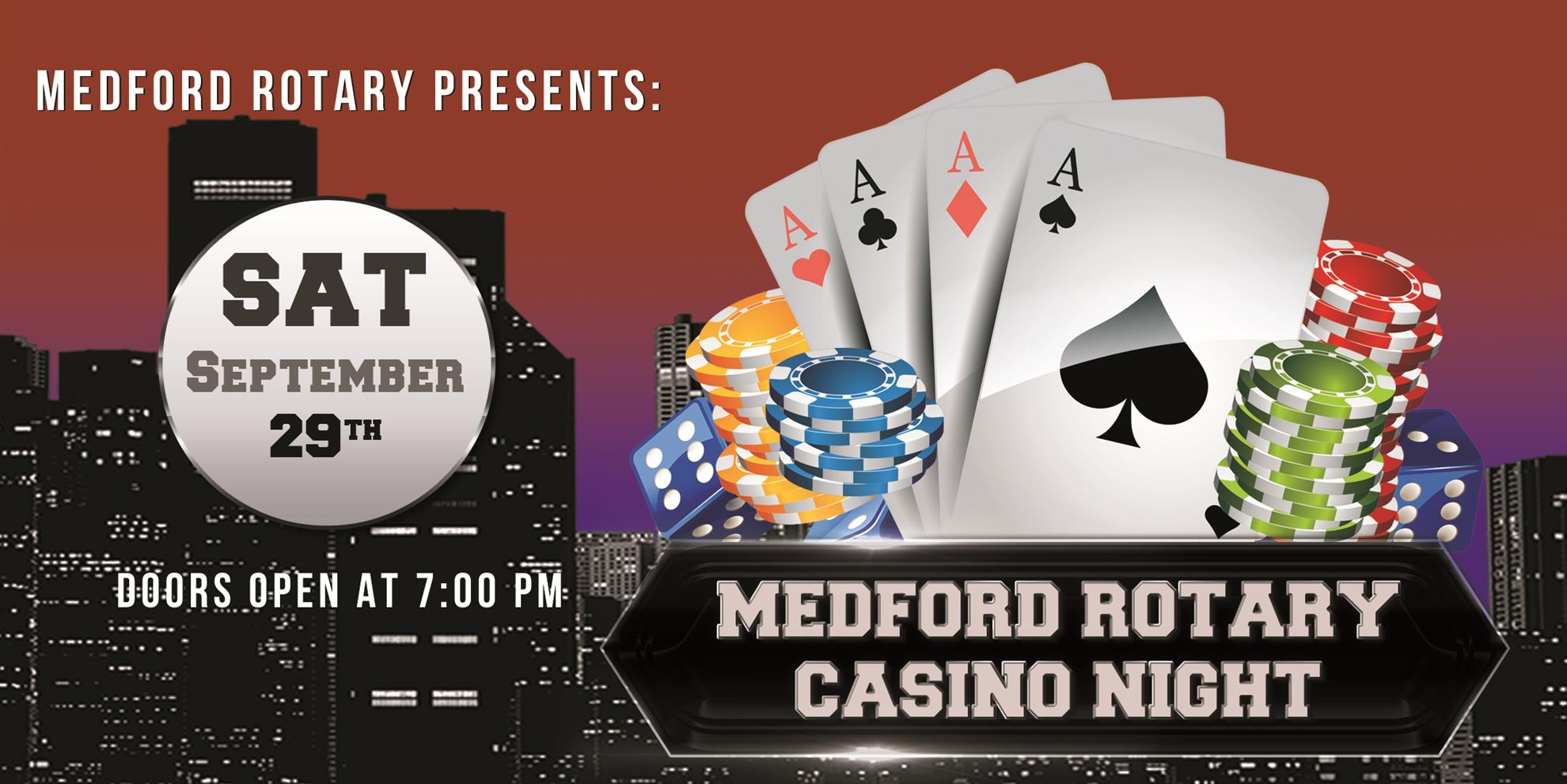 Casino Night 2017 Flyer