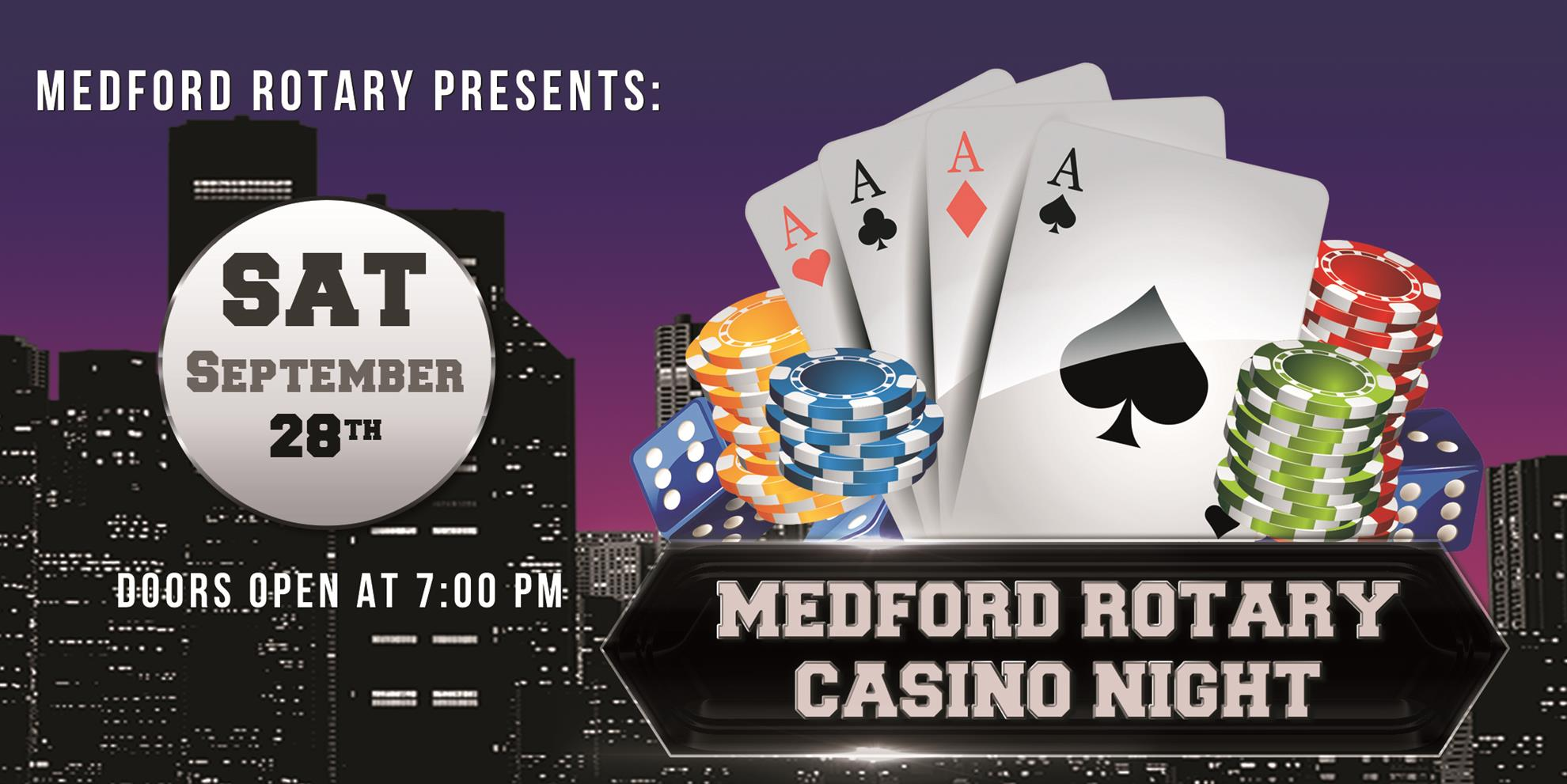 Casino Night 2019 Flyer