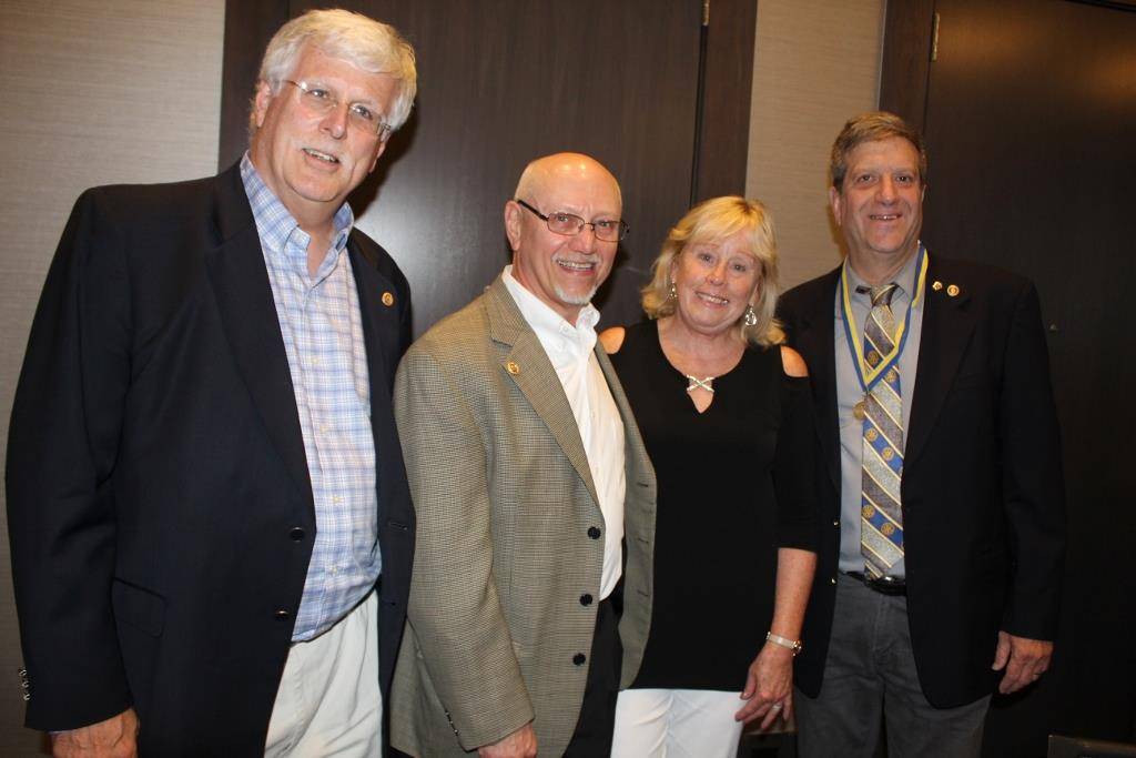 Mitch Michaud, PP Barry Kirshon, Darleen Kirshon & Rock Gordon