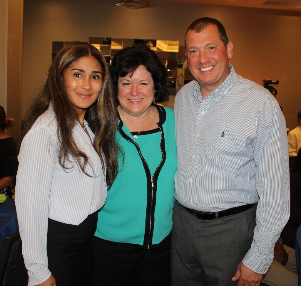 PP Saritin Rizzuto, PP Charlene Bauer and Dave Rizzuto