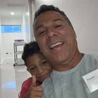 Juan Gallego helping with cleft palate surgery for children in Colombia
