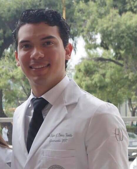 Our Rotary Global Scholar, Edgar Gerardo Dorsey-Treviño M.D. from Monterrey Mexico