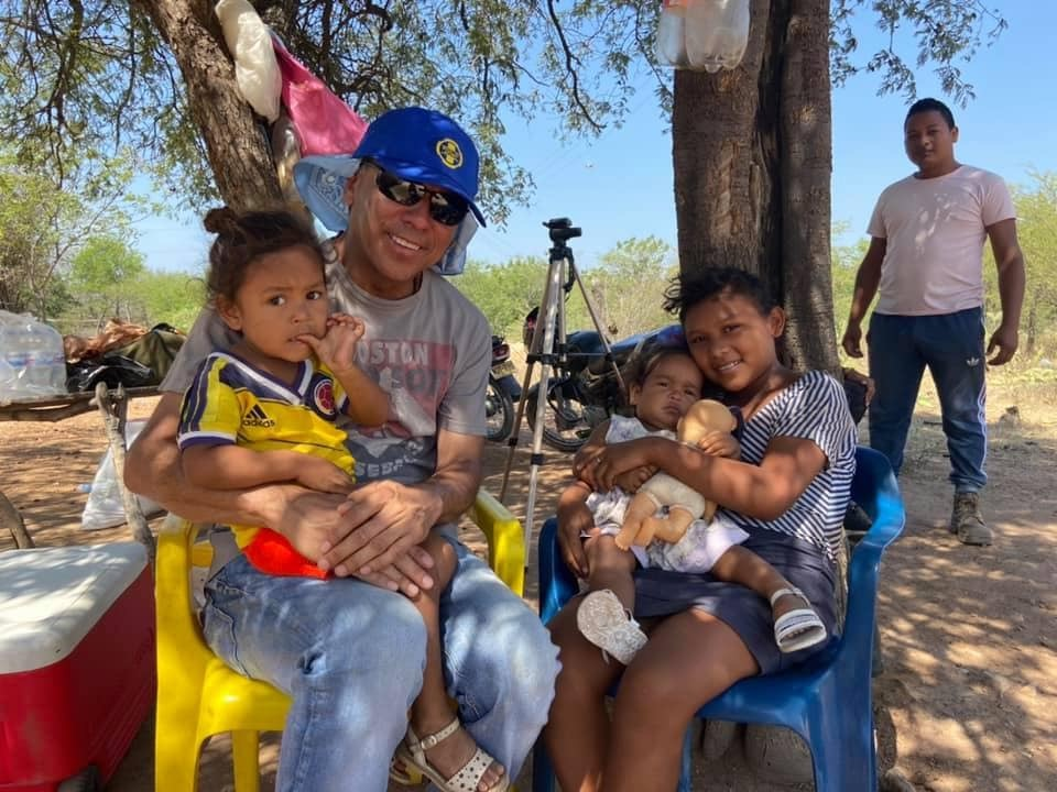 Chelsea Rotarian Juan Gallego exemplifying Service Above Self