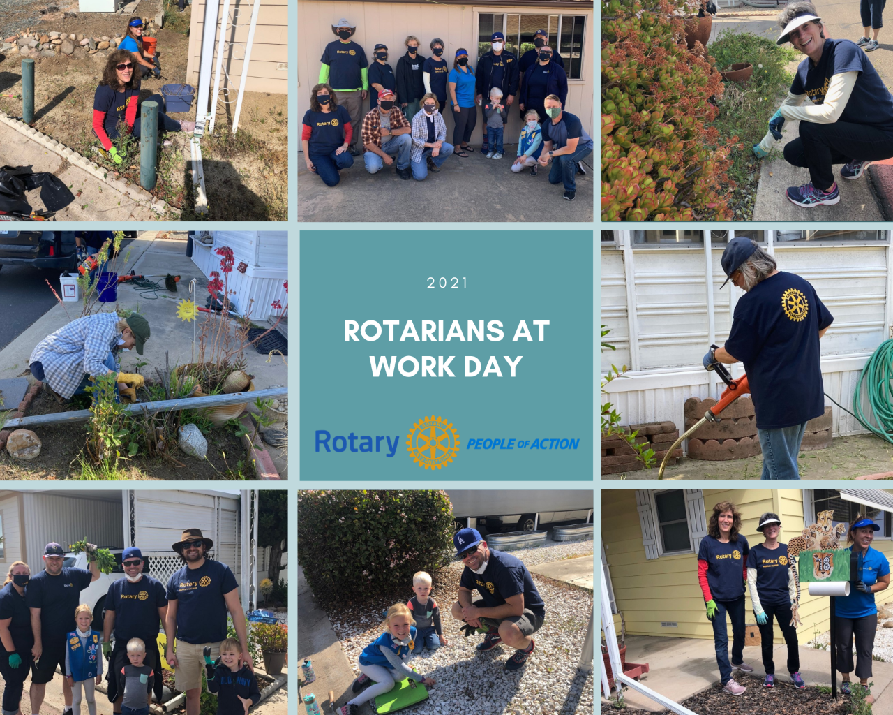 2021 Rotarians at Work Day