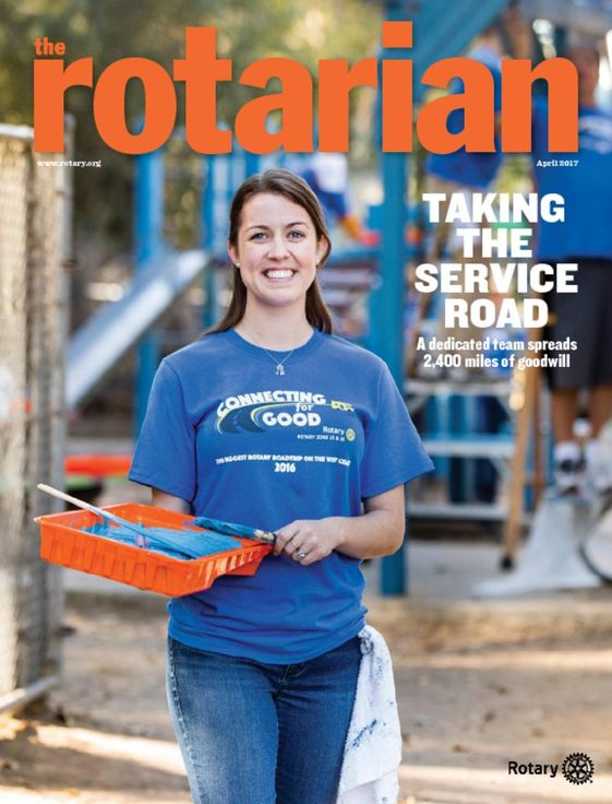 Rotary Club of San Marcos California - 2017 April Rotarian Magazine