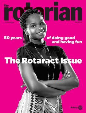 Rotary Club of San Marcos California - 2018 - March Rotarian Magazine