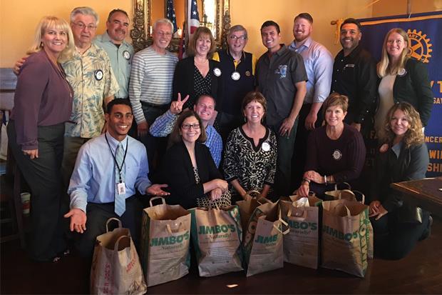 Rotary Club of San Marcos, California - 2017 Food Bank Food Drive