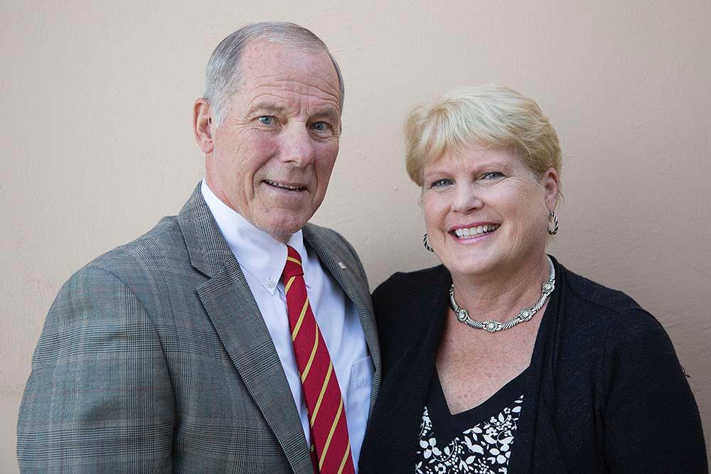 2019-20 Co-Presidents David and Susan King