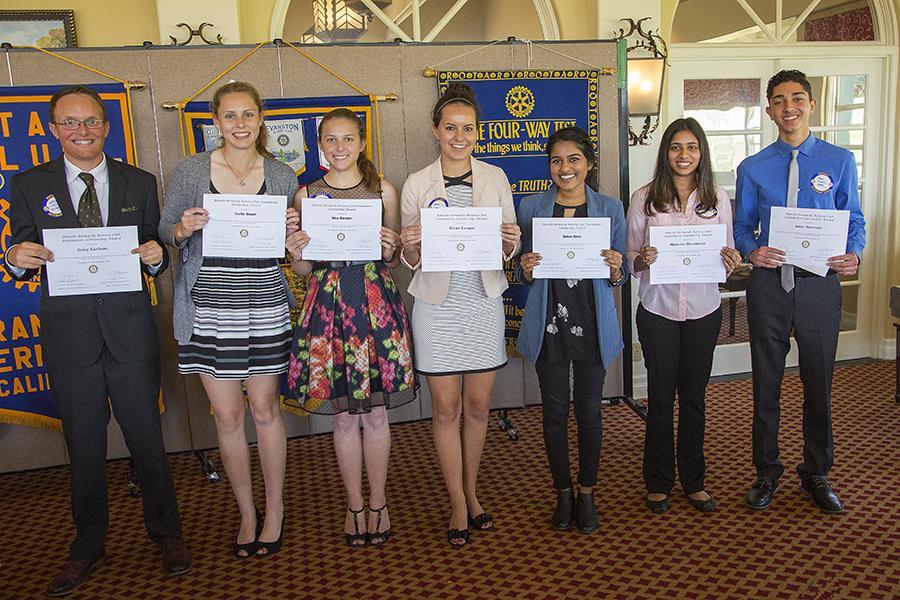 2016 Rancho Bernardo Rotary Foundation Scholarship Winners | Rotary