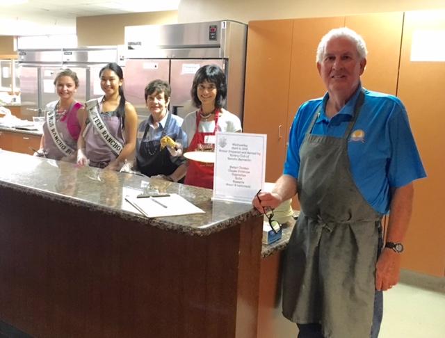 Volunteers Serve Dinner at Ronald McDonald House | Rotary
