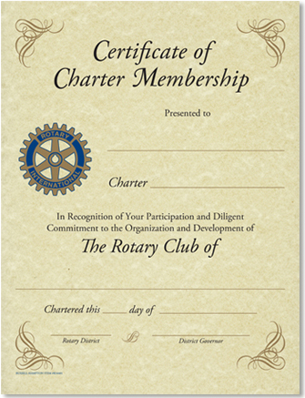 Our Club Charter Members | Rotary Club of North County San