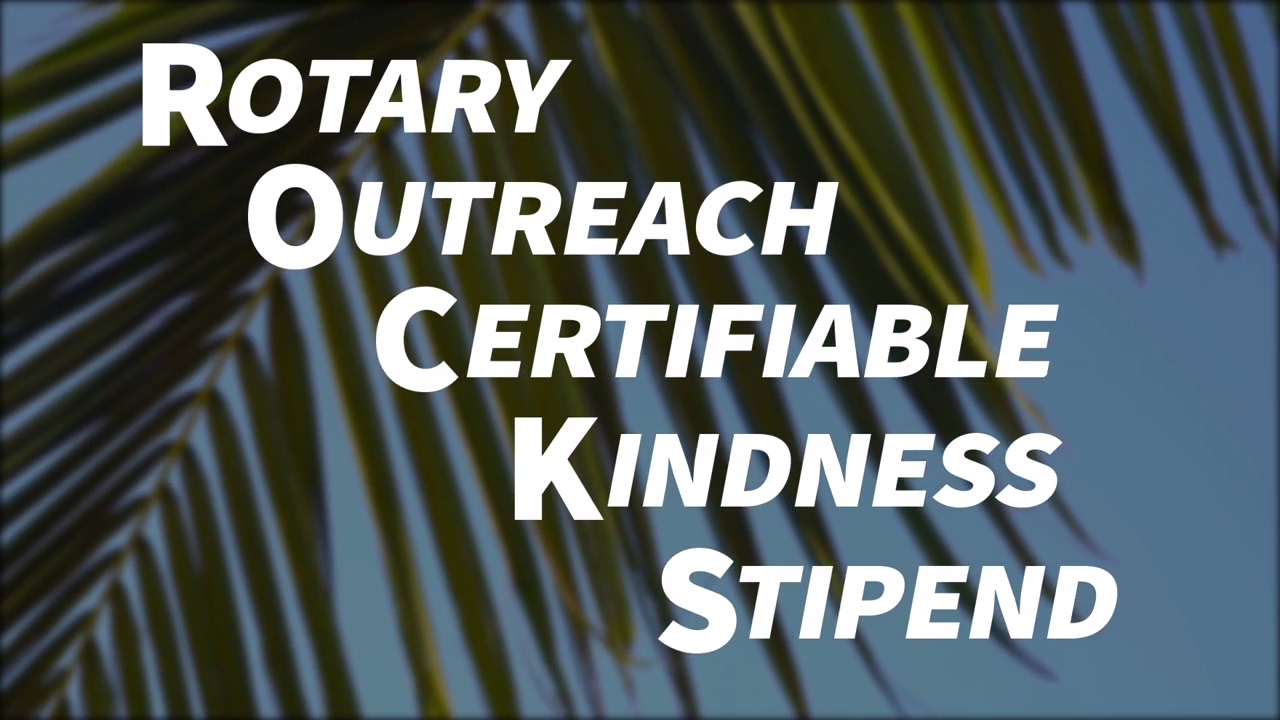 Rotary R.O.C.K.S. Video