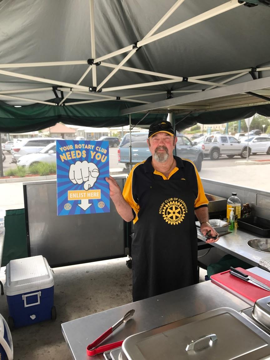 Rotary Cessnock Bunnings BBQ | Rotary Club of Cessnock