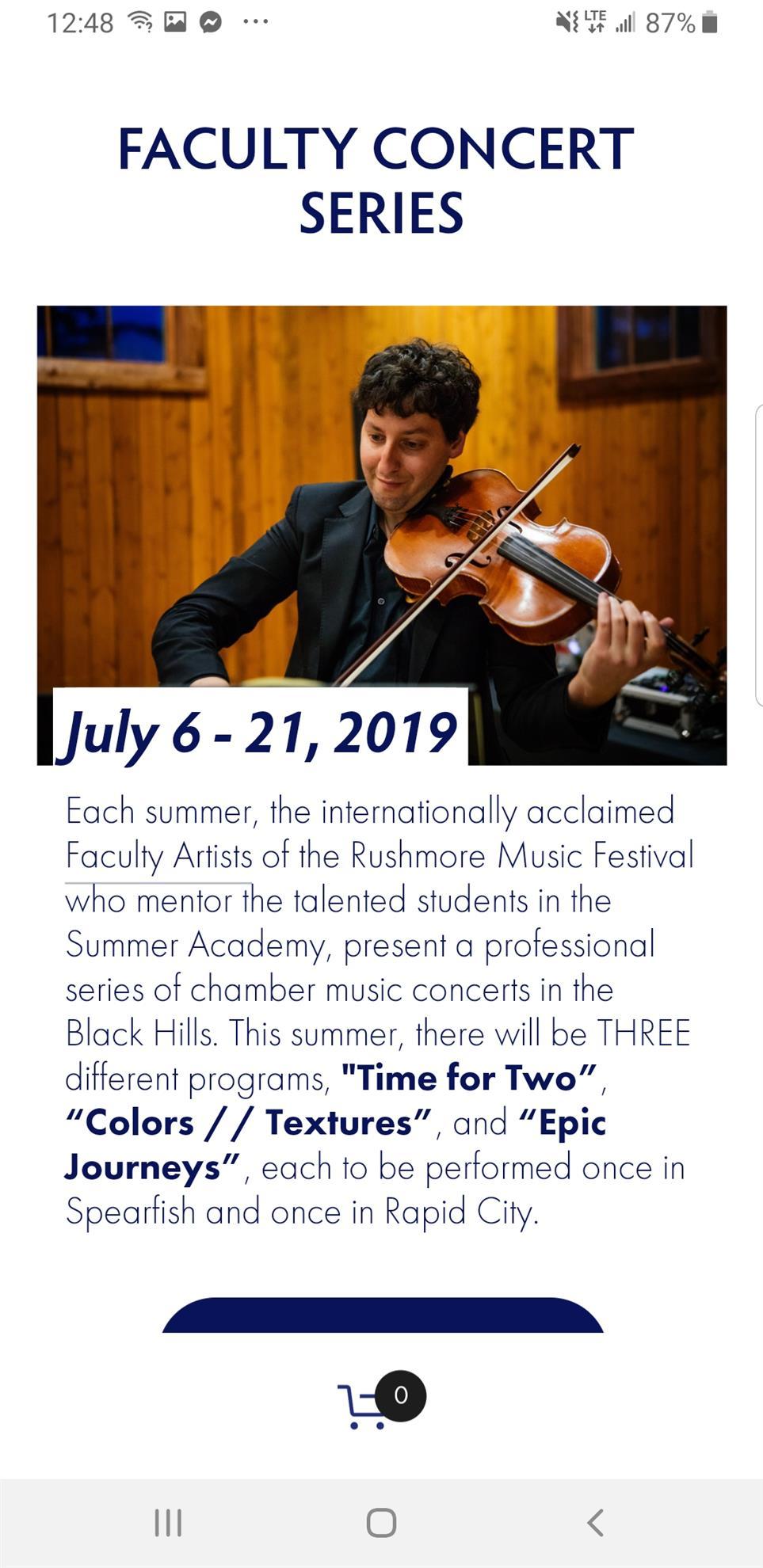 Rushmore Music Festival