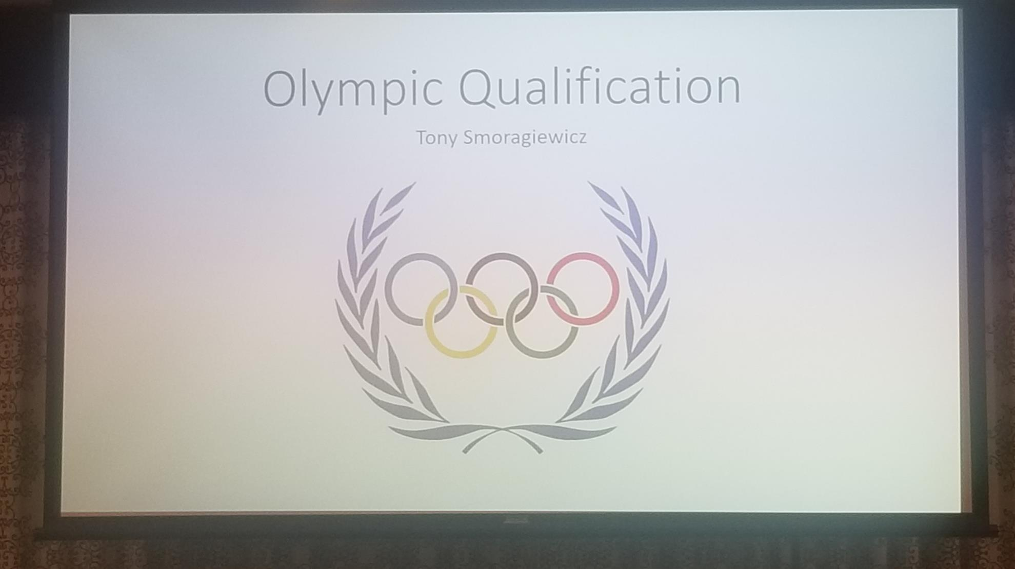 Want to learn how to be an Olympian?  Join Rotary & find out!