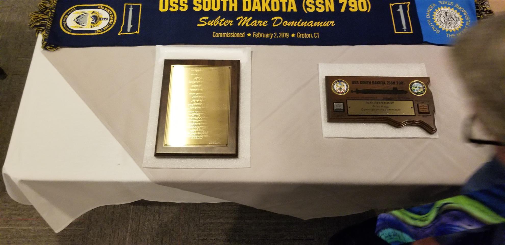 USS South Dakota Commemorative Poem & Plaque