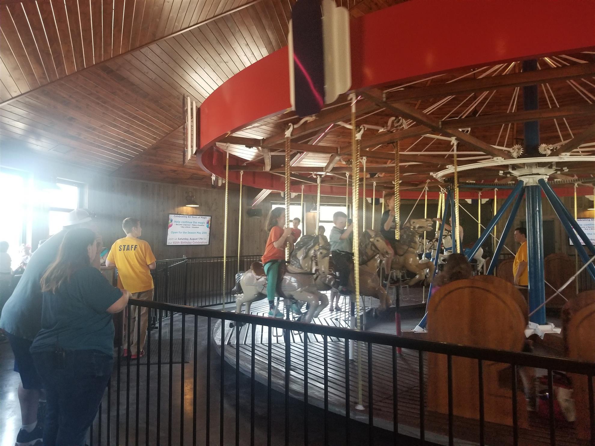 SBI Carousel House is OPEN