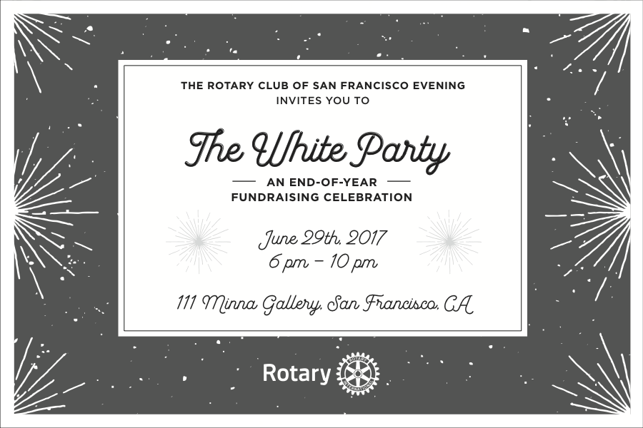 White Party 2017 | Rotary Club of San Francisco Evening
