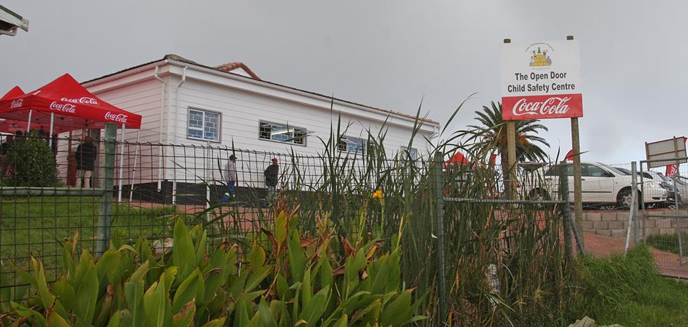 The Open Door Child Safety Centre in Ocean View, Cape Town