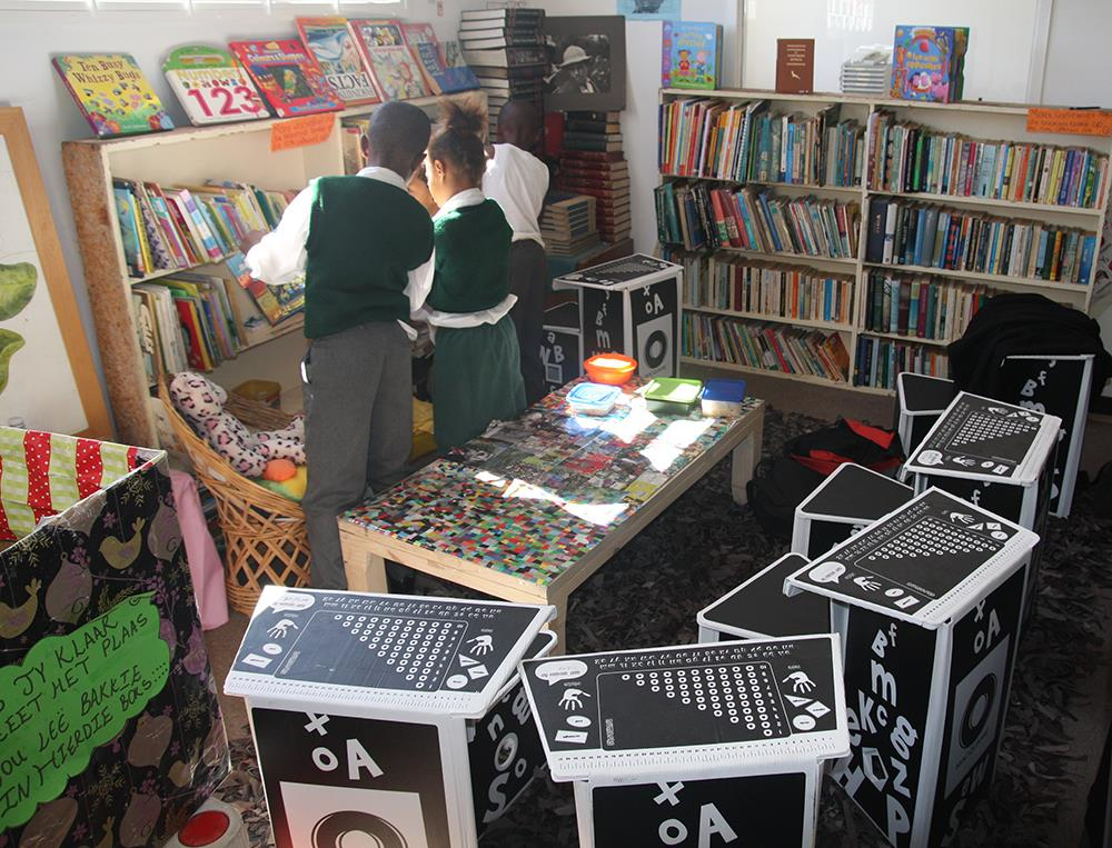 Children in the Open Door Library