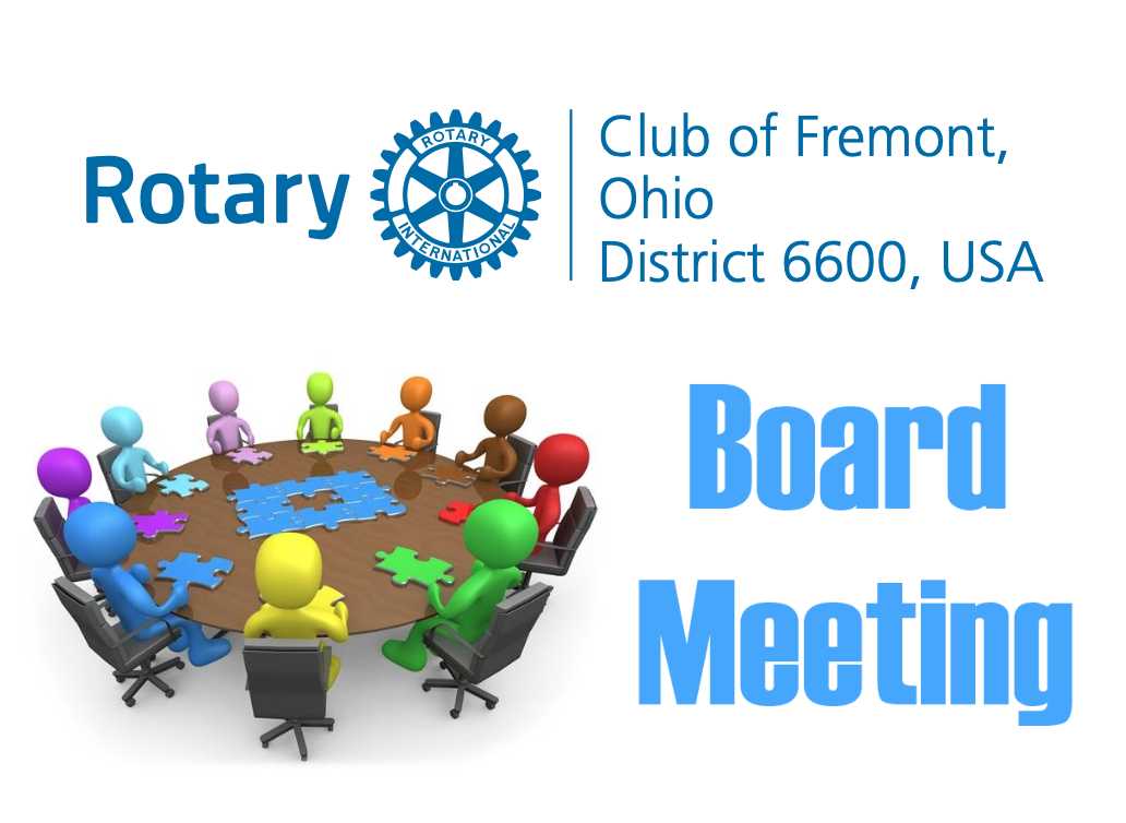 Club Board Monthly Meeting