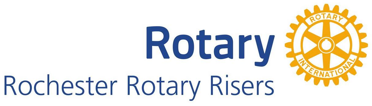 Rochester Rotary Risers Logo