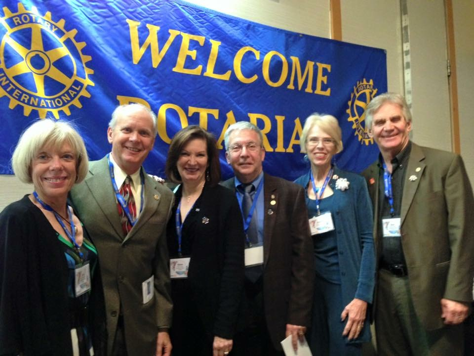 Rotary Presidents (with Spouces)