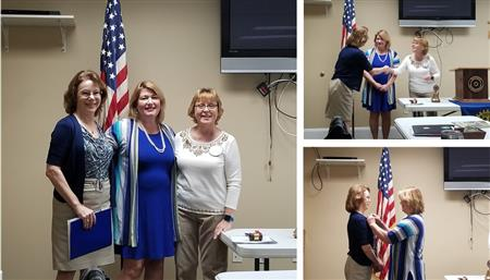 Induction of New Rotarian Rebecca Longnaker; 01-15-20