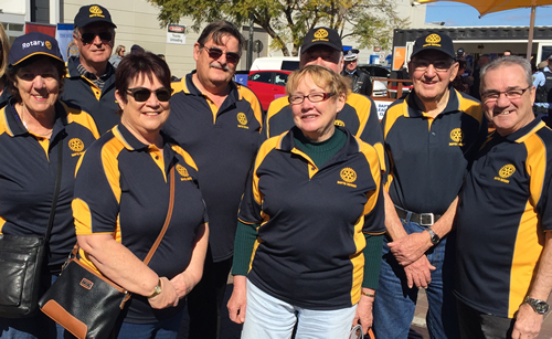Group of Dapto Rotarians