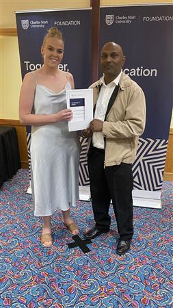 Awarding of Nursing Scholarship