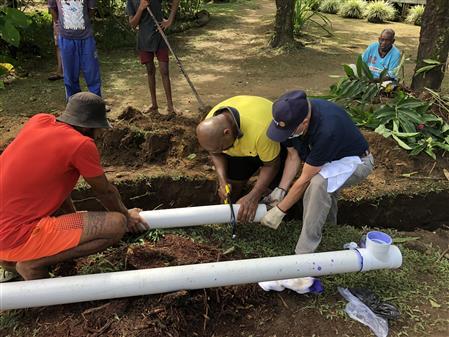 Water & Sanitation Project - Waidrada Village Fiji