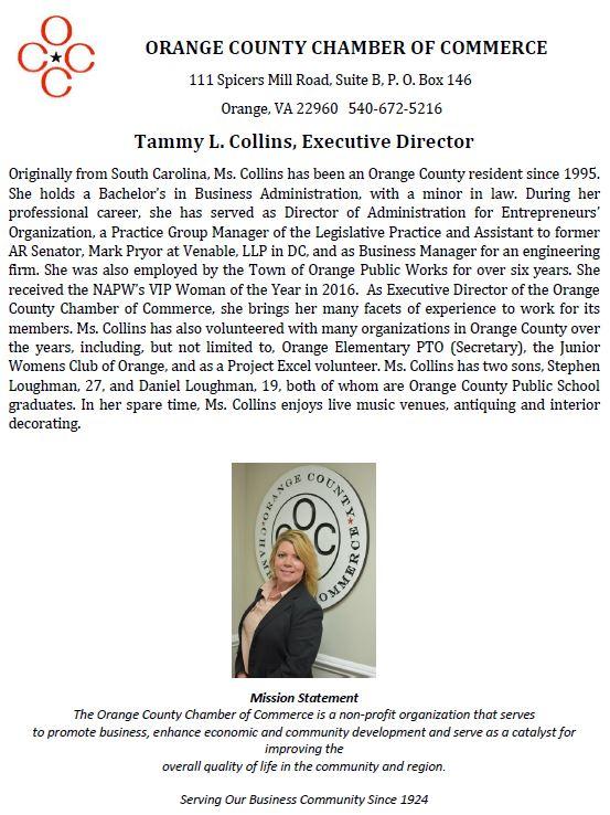 Tammy Collins Bio