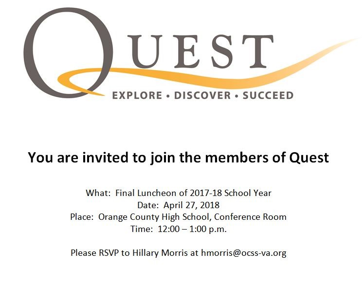 Quest Luncheon