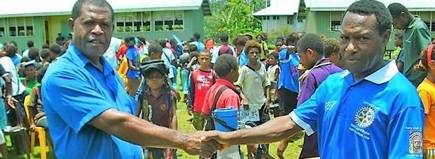School desks for PNG