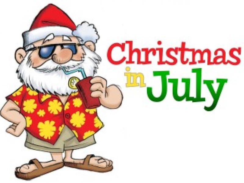Happy Rotary Santa