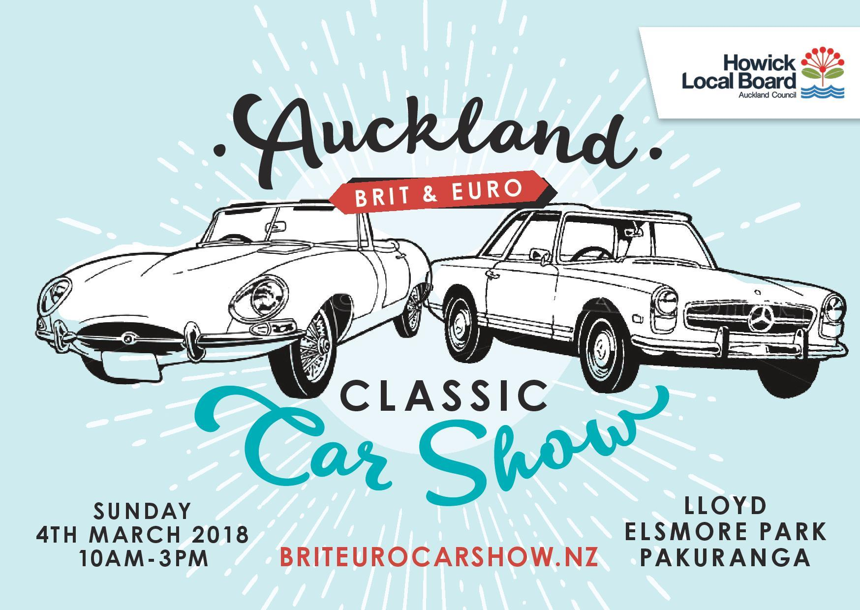 Auckland Brit And Euro Classic Car Show 4th March The Rotary Club