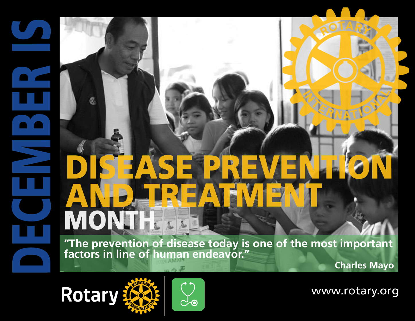 Rotary Disease Prevention and Treatment Month