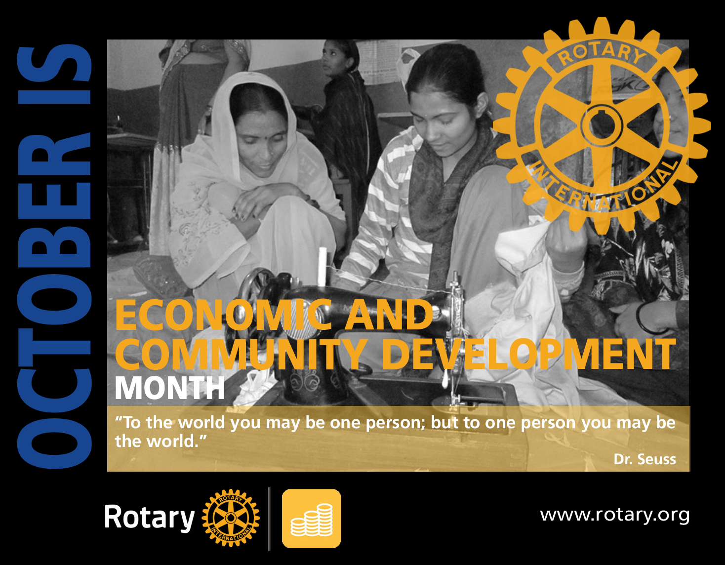 Rotary Economic and Community Development Month
