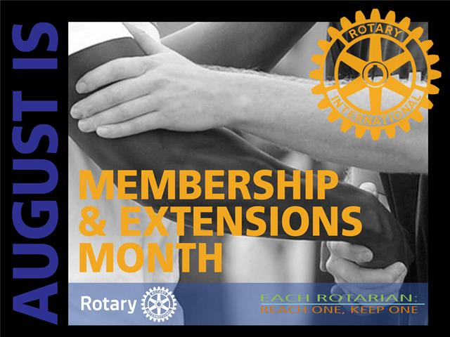 Rotary Membership and Development Month