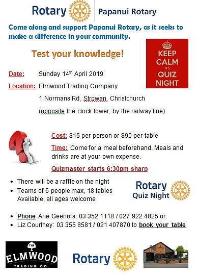 Stories | The Rotary Club of Papanui (Inc )