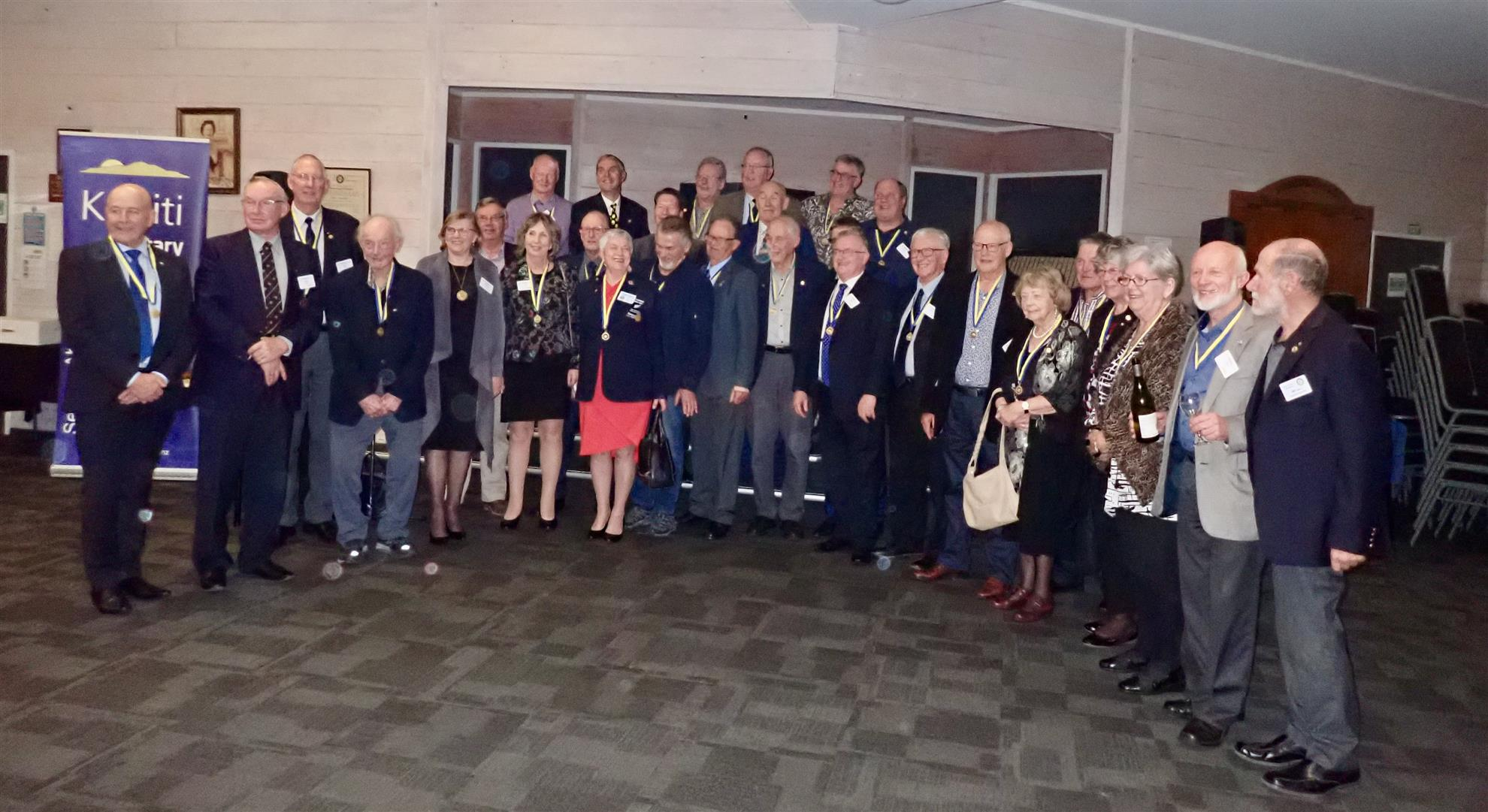 Paul Harris Fellows from Kapiti & Paraparaumu Rotary Clubs