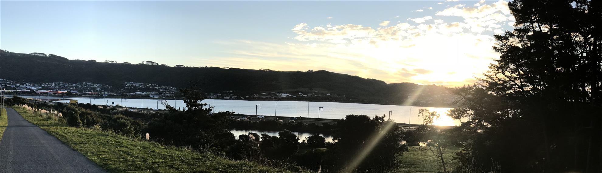 Sunset in Porirua
