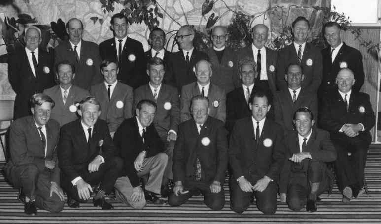 Waikanae Rotary Club Charter Members